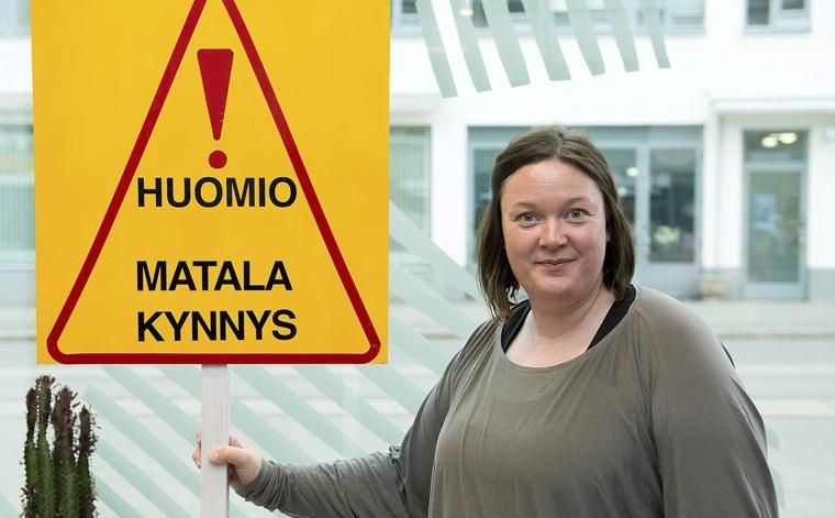 Hanna Ruohonen.