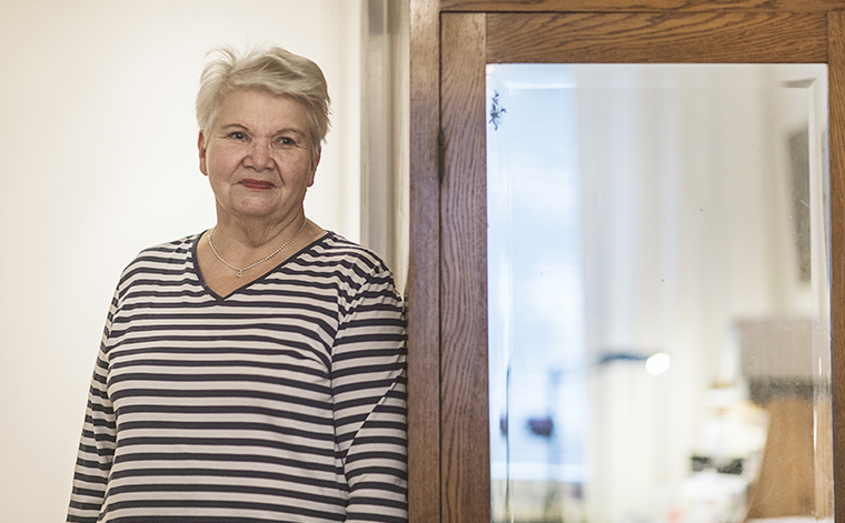 Marja Levander.