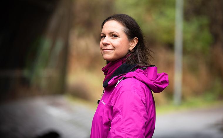Jessica Nylund-Lehtiniemi osallistuu Kelan toiminnallisten häiriöiden kuntoutukseen.