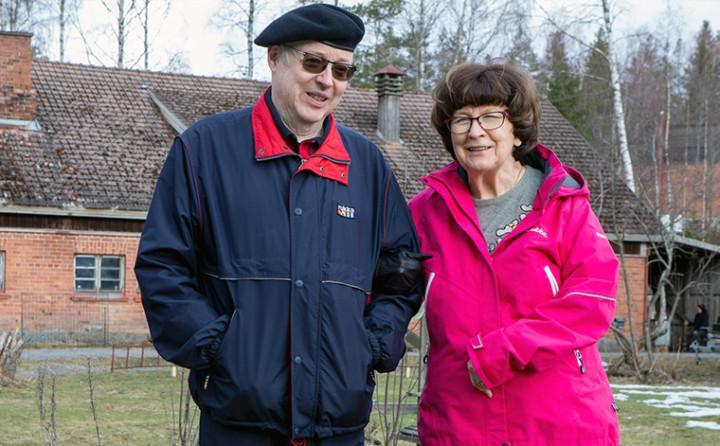 Eero-Veikko ja Anja Niemi.